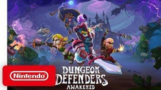 Dungeon Defenders: Awakened - Announcement Trailer - Nintendo Switch