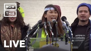 Immigrant Youth Rally As Supreme Court Hears DACA Case | NowThis
