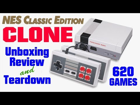 NES Classic Edition Clone, MINI GAME Anniversary Edition Entertainment System 620 Games