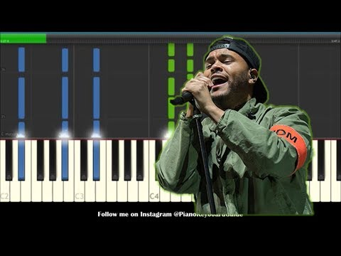 The Weeknd Call Out My Name Piano Tutorial & Cover