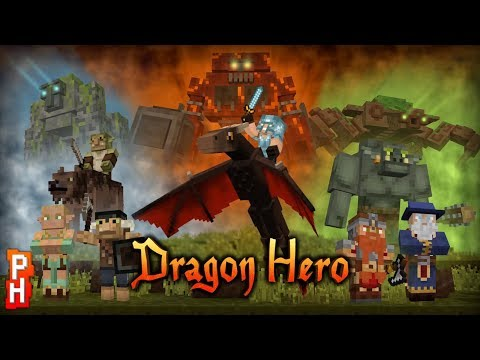 Minecraft Dragon Hero Gameplay Review