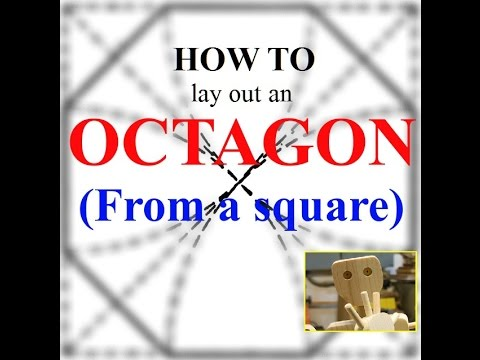 How to lay out an Octagon (from a square)