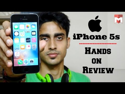 Apple iPhone 5s | Hands on Review(Hindi)! - Youtube