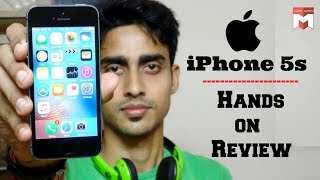 Apple Iphone 5s Hands On Reviewhindi Youtube
