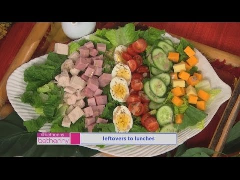 How to Make a Delicious Leftovers Lunch!