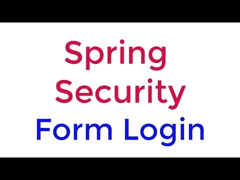 Spring Security Form Login part 6
