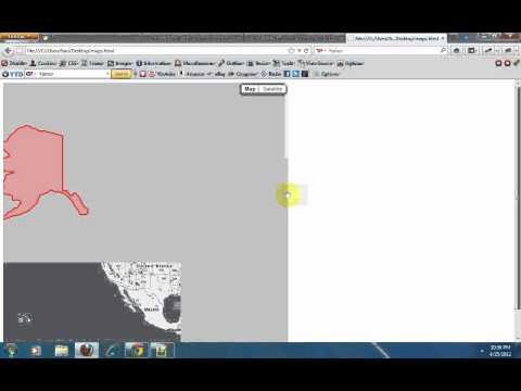 create overlays on google maps using google maps api v3