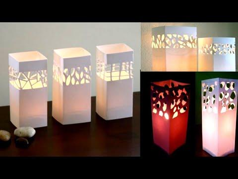 How to make fancy paper lantern #3 || christmas decoration ideas || Diwali decoration ideas