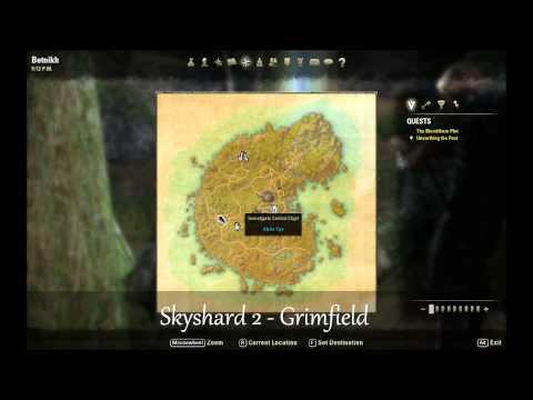 ESO Skyshard Locations - Betnikh