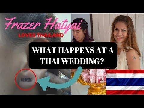 Thai wedding ceremony - Getting Married in Thailand - What Happens?