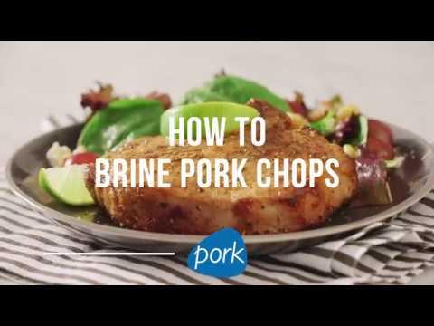 How to Brine Pork Chops