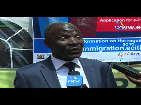 Department of Immigration rolls out Kenya's e-passport