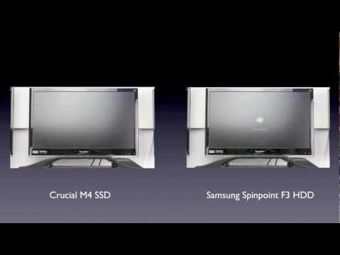 SSD vs HDD Windows Boot Time Comparison