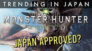 Does Japan Like Monster Hunter World?