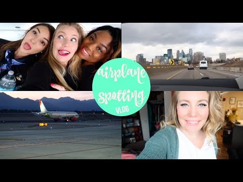 Airplane Spotting | Flight Attendant Vlog