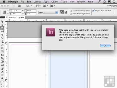 Varying Size of Pages in Adobe InDesign CS5 - Learn More