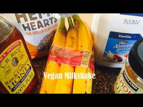 How to make  a Vegan Milk shake