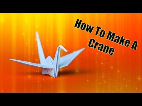 How To Make A Crane!!!