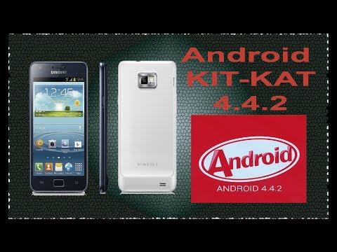 Instala Android Kitkat 4.4.2 galaxy s2  estable (Español)