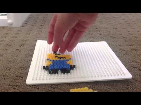 How To Make A Minion Out Of Perler Beads