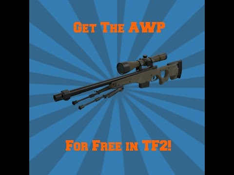 How to get the AWP for free on TF2 using console
