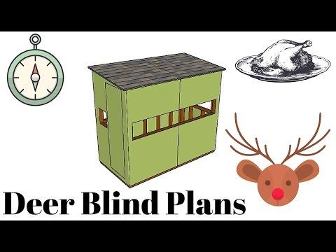 Hunting Blind Plans