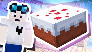 THE MINECRAFT WISHING CAKE!!!