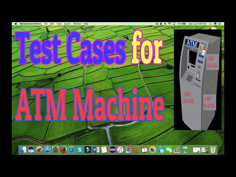 Test Cases for ATM Machine