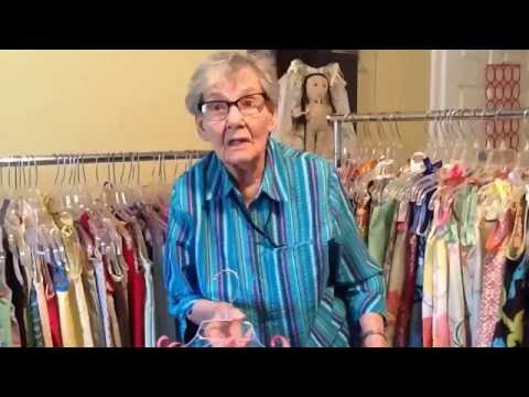 103 year old makes pillowcase dresses !