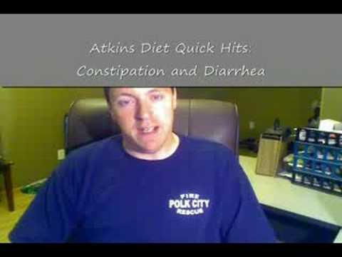 Atkins Diet Quick Hits:  Constipation and Diarrhea