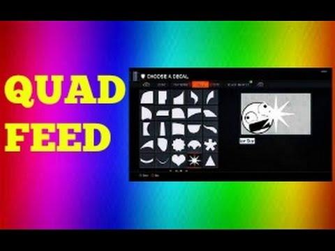How To Make QUAD FEED Emblem (Emblem Tutorial)