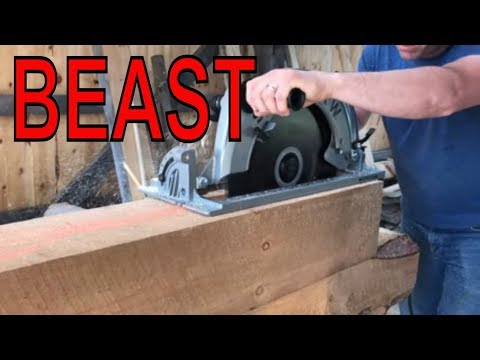 Watch Out Makita...Here comes the Super Sawsquatch from Skilsaw