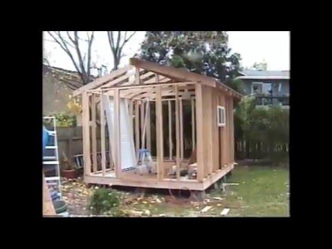 Garden Shed, Storage. DIY.