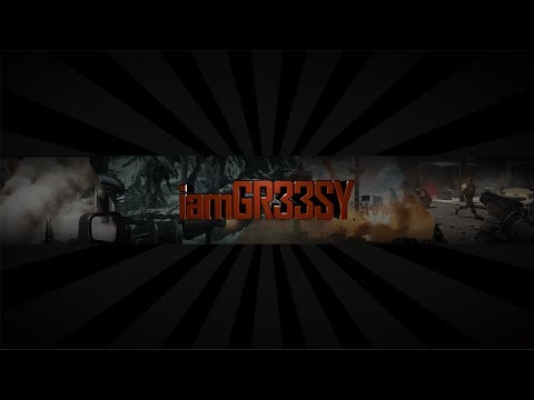 YouTube Banner #1 iamGR33SY