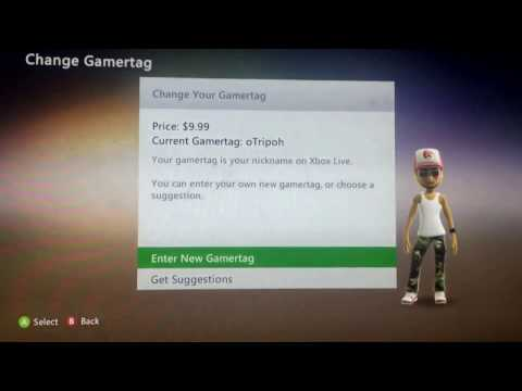 HOW TO CHANGE YOUR XBOX 360 GAMERTAG (For Free!