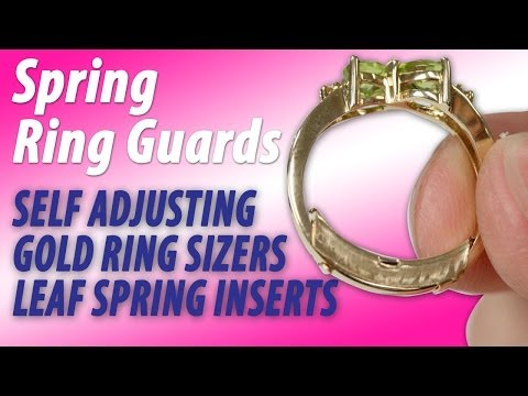 Ring Sizers Spring Ring Guards