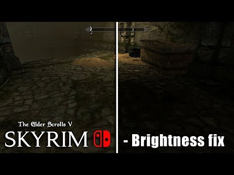 Skyrim - Nintendo SWITCH - Brightness/Gamma How to adjust