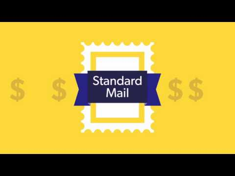 Standard vs. First Class Postage Overview