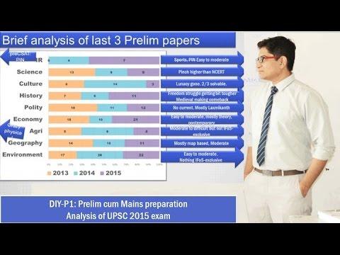 DIY-P1: UPSC Prelim cum Mains Preparation: How to begin  General Studies (GS)