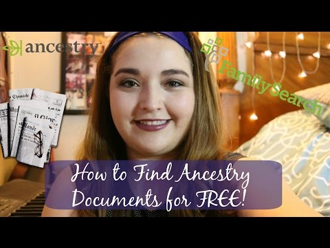 How to find Ancestry Family Documents for FREE! | Pt2