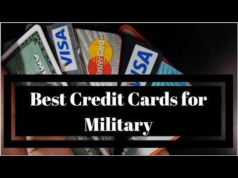 [Military] Best Credit Cards