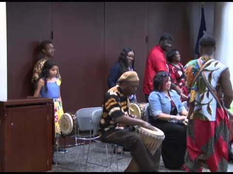 Passport Texas - Intuitive African Dance