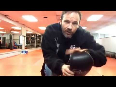 Cleaning your sparring gear with Nick