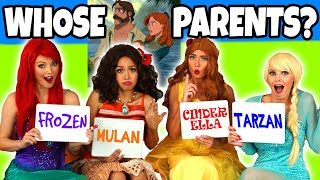Guess the Disney Movie Parents. Can you Guess the Disney Character? Totally TV Dress Up.