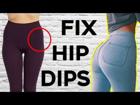 ❤️ 4 BEST Exercises For WIDER HIPS (Fix Your Hip Dips) |  Get BIGGER Hips and Butt🍑