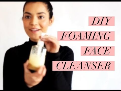 How to make foaming face cleanser at home | DIY | thelobeauty