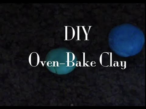How to make your own oven-bake clay