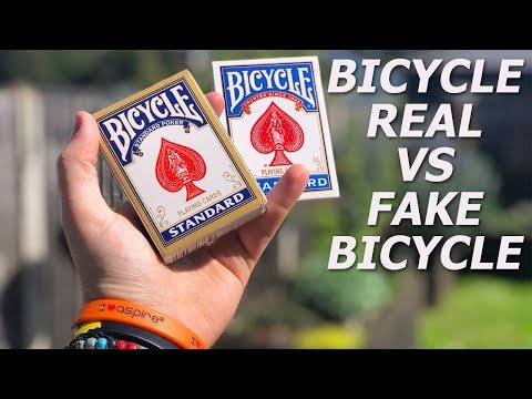 Deck War - Fake Bicycle Cards VS Bicycle Standard Playing Cards [HD]