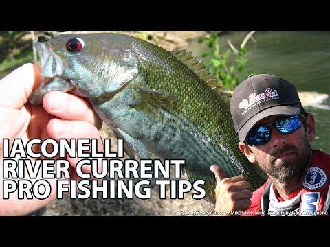 River Eddies & Under Bridges Bass Fishing How-to - Ike's Secret Tips