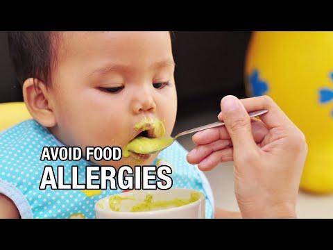 How to avoid food allergies in babies.
